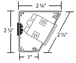 Tamper Resistant Sectional Drawing