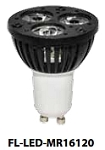 MR16 4 watts 12v 12° Spot or 35° Flood, 50,000 hrs, 10 yr warranty