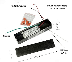 Dimmable LED (External Drivers) Power Supplies (Hardwired with Junction box& Plug-in type)
