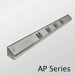 Angled Power Strip 20A Single Receptacle