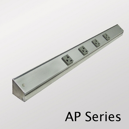 Slimline Angled Power Strip