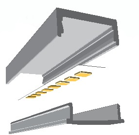 <b>CHROMAPATH</> Slim Surface Mount Channels