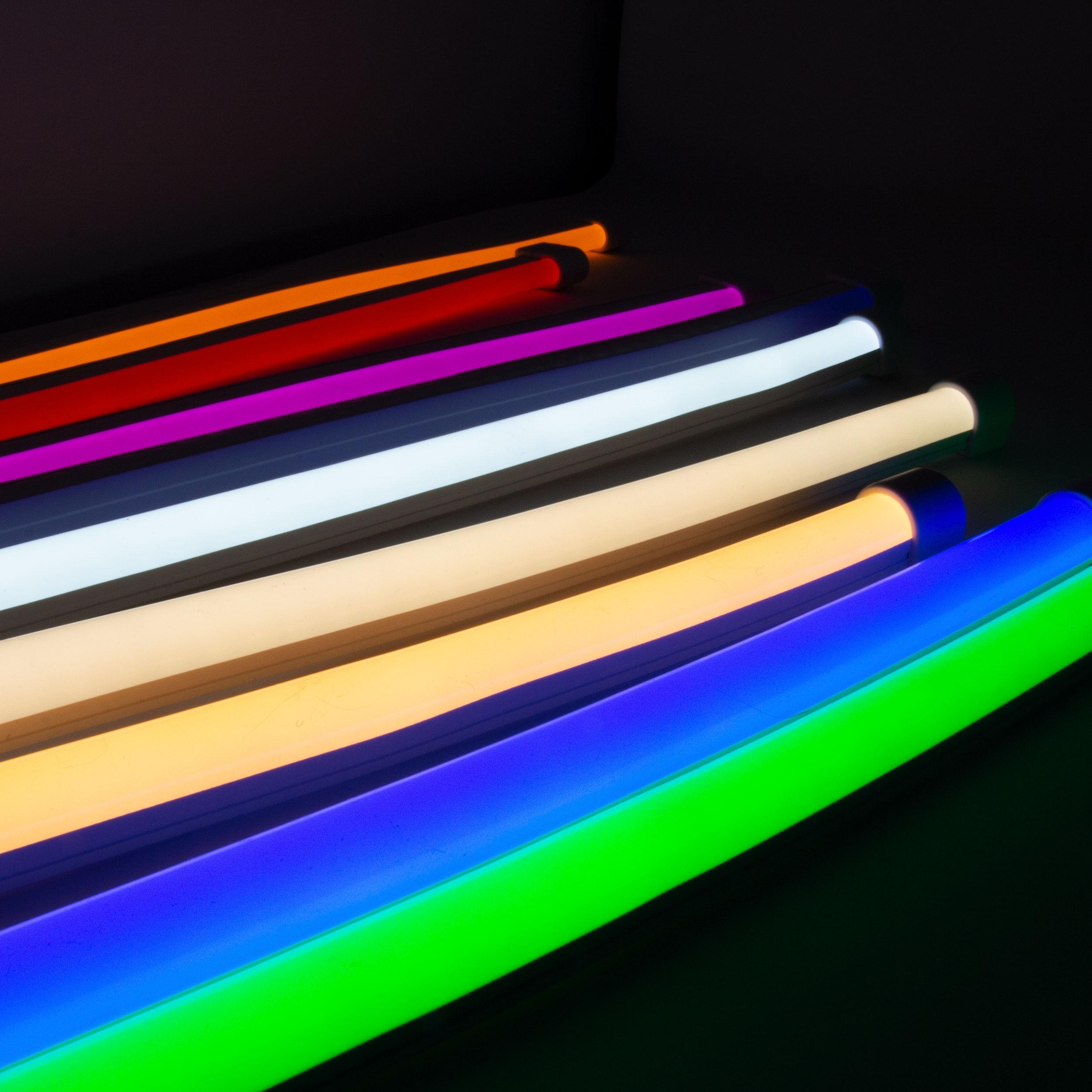 Neon Blaze Diffused Flexible Lighting With White To Rgb