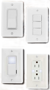 TR Series Switches and Receptacles