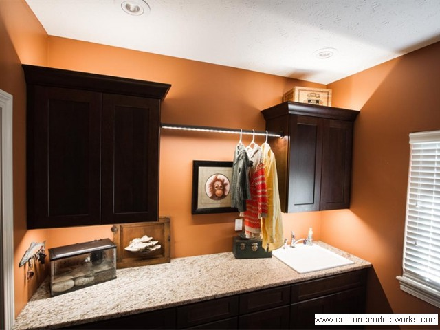 LED Lighted Closet Rod and Under Cabinet Lighting