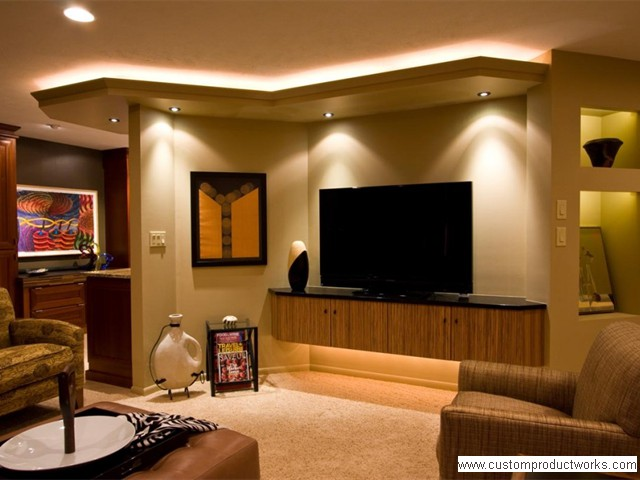 Add ambiance by using Toe Kick, Soffit, and Alcove Accent Lighting