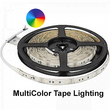 RGB Inferno Color Changing LED Tape Lighting
